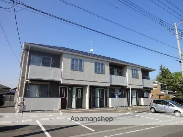 群馬県伊勢崎市、新伊勢崎駅徒歩11分の築7年 2階建の賃貸アパート