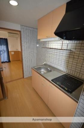 グリーンサイド[1K/29.58m2]のキッチン