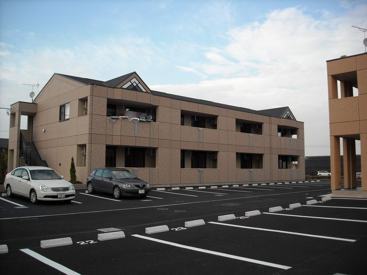 群馬県伊勢崎市、国定駅徒歩30分の築6年 2階建の賃貸アパート