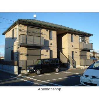 群馬県伊勢崎市、新伊勢崎駅徒歩40分の築12年 2階建の賃貸アパート
