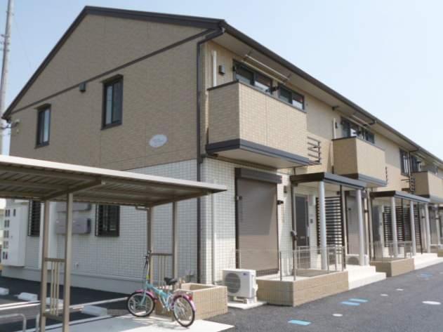群馬県伊勢崎市の築3年 2階建の賃貸アパート