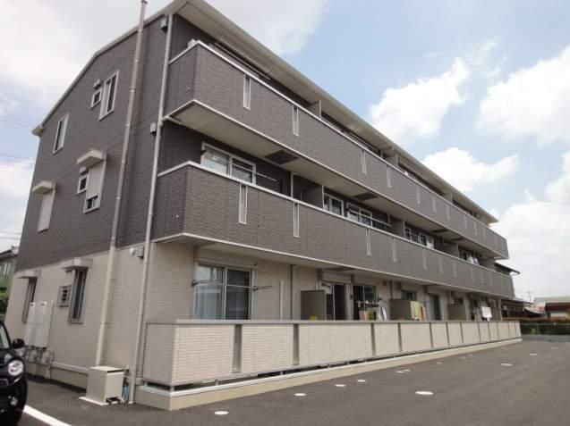 群馬県伊勢崎市、駒形駅徒歩43分の築2年 3階建の賃貸アパート