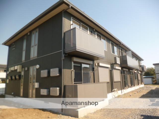 群馬県伊勢崎市、境町駅徒歩18分の築2年 2階建の賃貸アパート