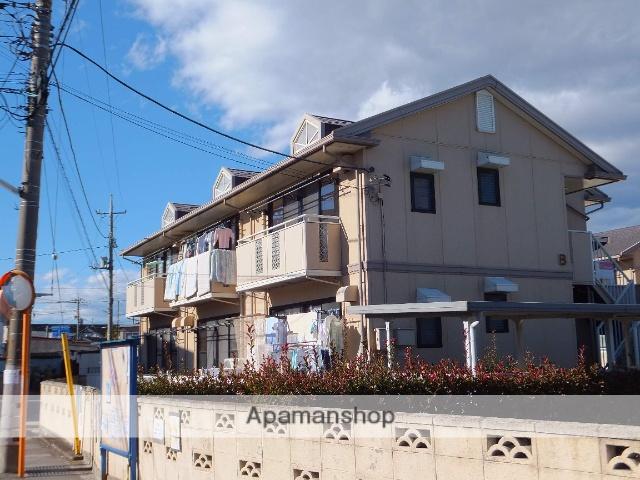 群馬県高崎市、高崎駅徒歩16分の築24年 2階建の賃貸アパート