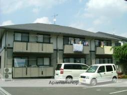 群馬県高崎市、南高崎駅徒歩19分の築22年 2階建の賃貸アパート