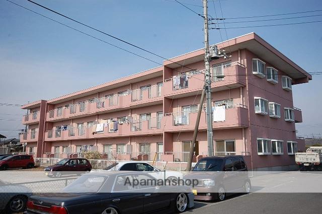 群馬県高崎市、群馬八幡駅徒歩5分の築29年 3階建の賃貸マンション