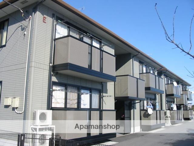 群馬県高崎市、北高崎駅関越バスバス20分中泉下車後徒歩10分の築15年 2階建の賃貸アパート