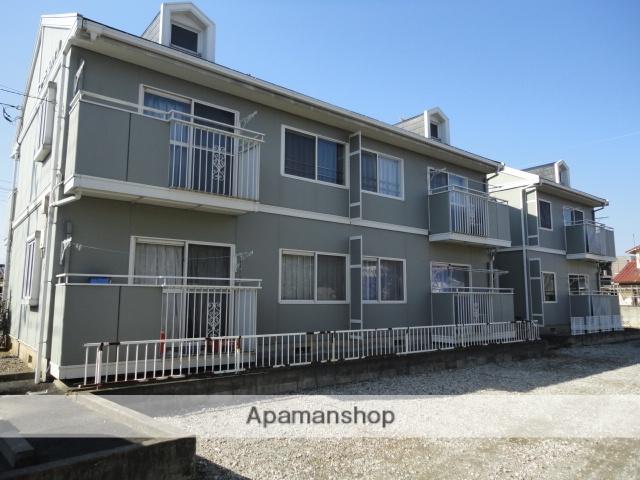 群馬県高崎市、群馬八幡駅徒歩15分の築25年 2階建の賃貸アパート