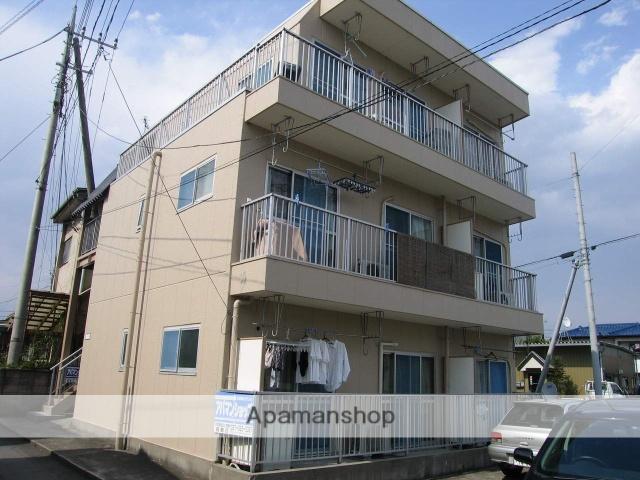 群馬県高崎市、高崎駅徒歩13分の築28年 3階建の賃貸アパート