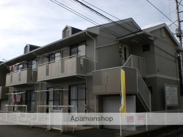 群馬県高崎市、高崎駅徒歩38分の築23年 2階建の賃貸アパート