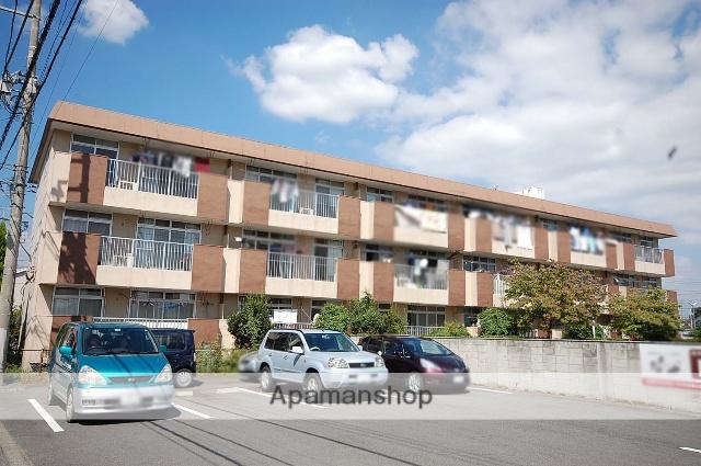 群馬県高崎市、高崎駅徒歩25分の築37年 3階建の賃貸マンション