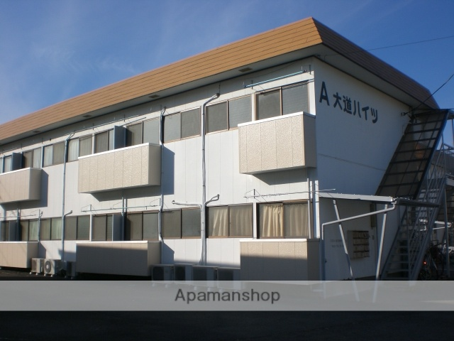 群馬県高崎市、高崎駅徒歩14分の築30年 2階建の賃貸アパート