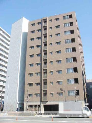群馬県高崎市、高崎駅徒歩3分の築9年 10階建の賃貸マンション