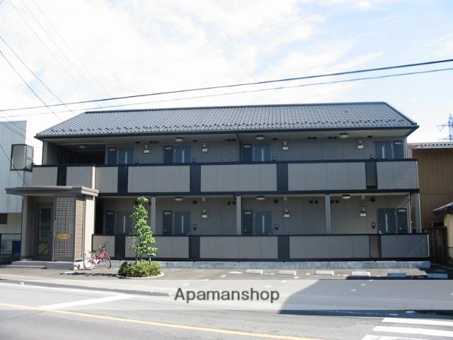 群馬県高崎市、北高崎駅徒歩9分の築13年 2階建の賃貸アパート