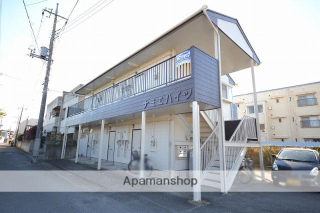 群馬県高崎市、北高崎駅徒歩10分の築30年 2階建の賃貸アパート