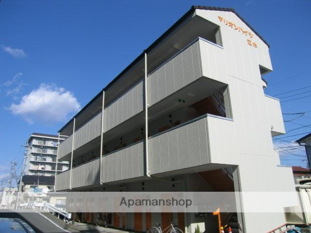 群馬県高崎市、高崎駅徒歩15分の築28年 3階建の賃貸アパート