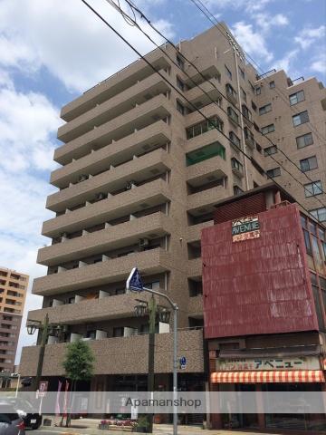 群馬県高崎市、高崎駅徒歩10分の築28年 13階建の賃貸マンション
