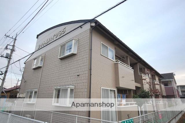 群馬県高崎市、新前橋駅徒歩50分の築22年 2階建の賃貸アパート
