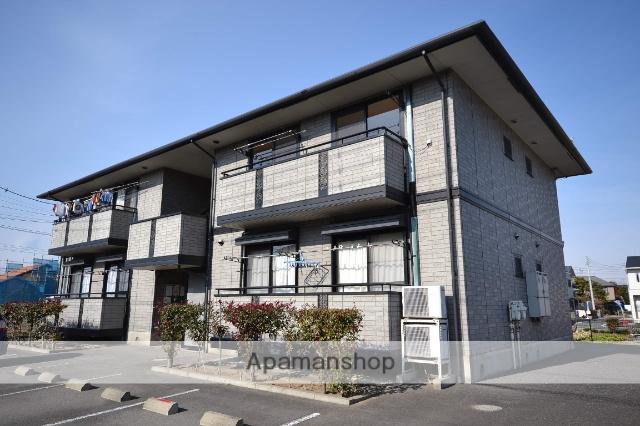 群馬県高崎市、倉賀野駅徒歩27分の築17年 2階建の賃貸アパート