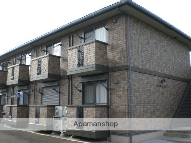 群馬県高崎市、高崎問屋町駅徒歩28分の築13年 2階建の賃貸アパート