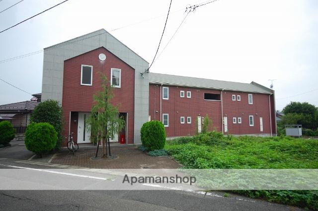 群馬県高崎市、高崎駅徒歩25分の築17年 2階建の賃貸アパート