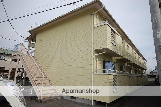 群馬県高崎市、北高崎駅徒歩62分の築28年 2階建の賃貸アパート