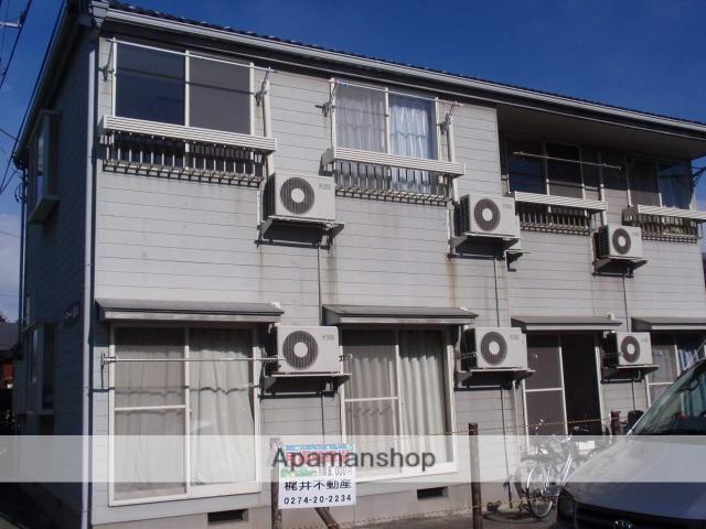 群馬県高崎市、高崎駅徒歩8分の築22年 2階建の賃貸アパート