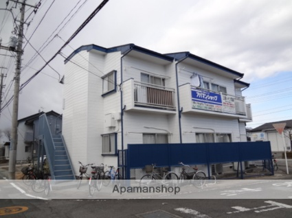 群馬県高崎市、北高崎駅徒歩27分の築30年 2階建の賃貸アパート