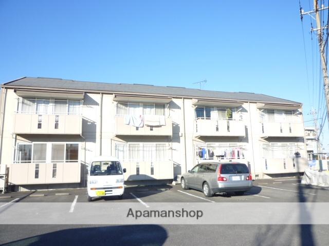 群馬県高崎市、北高崎駅徒歩27分の築28年 2階建の賃貸アパート