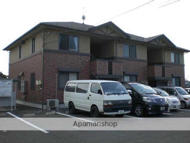 群馬県高崎市、高崎駅群馬バスバス18分三ツ寺下車後徒歩2分の築14年 2階建の賃貸アパート