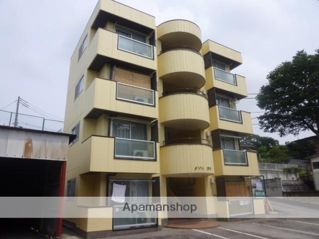 群馬県高崎市、高崎駅徒歩20分の築30年 4階建の賃貸アパート