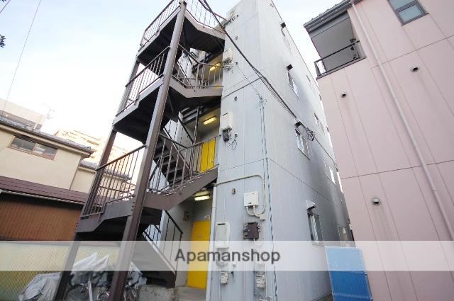 群馬県高崎市、高崎駅徒歩8分の築25年 4階建の賃貸アパート