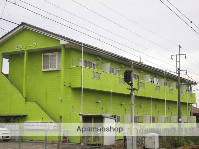 群馬県安中市、磯部駅徒歩3分の築25年 2階建の賃貸アパート