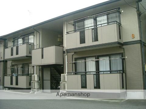 群馬県高崎市、北高崎駅徒歩20分の築20年 2階建の賃貸アパート