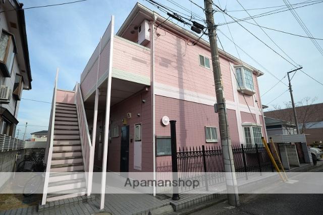 群馬県高崎市、高崎駅徒歩19分の築25年 2階建の賃貸アパート