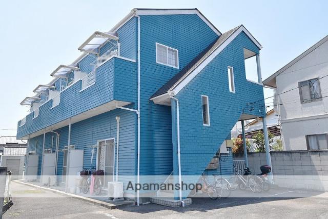 群馬県高崎市、高崎駅徒歩21分の築21年 2階建の賃貸アパート