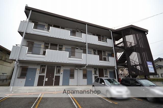 群馬県高崎市、北高崎駅徒歩24分の築31年 3階建の賃貸アパート