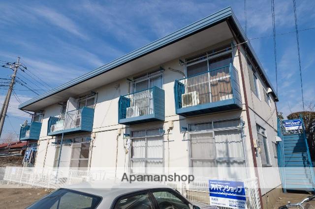 群馬県高崎市、北高崎駅徒歩10分の築36年 2階建の賃貸アパート