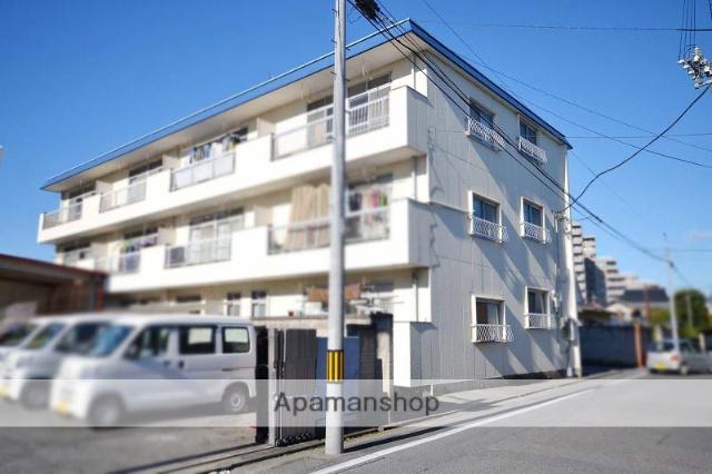 群馬県高崎市、高崎駅徒歩14分の築39年 3階建の賃貸マンション