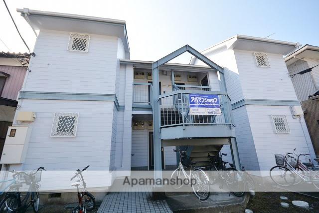 群馬県高崎市、北高崎駅徒歩30分の築25年 2階建の賃貸アパート