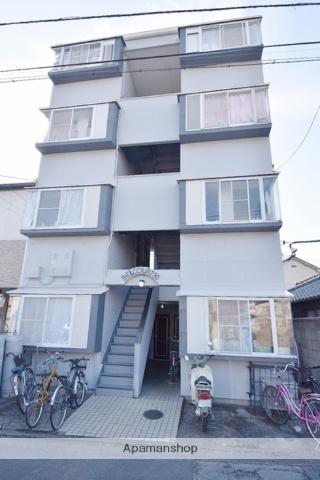群馬県高崎市、高崎駅徒歩15分の築27年 4階建の賃貸アパート