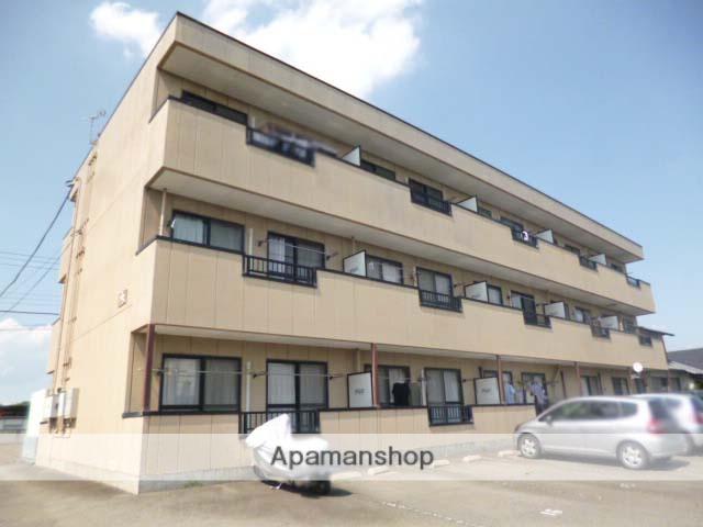 群馬県高崎市、井野駅徒歩26分の築20年 3階建の賃貸アパート