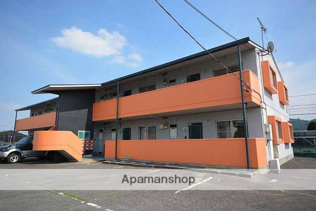 群馬県高崎市、群馬八幡駅徒歩6分の築24年 2階建の賃貸アパート