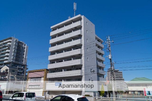 群馬県高崎市、高崎駅徒歩17分の築28年 8階建の賃貸マンション