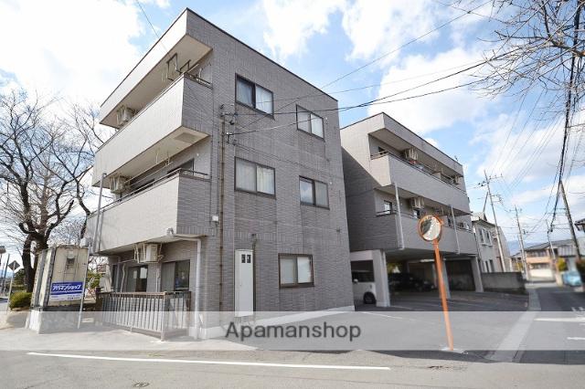 群馬県高崎市、北高崎駅徒歩22分の築19年 3階建の賃貸マンション