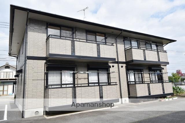 群馬県高崎市、北高崎駅徒歩17分の築17年 2階建の賃貸アパート
