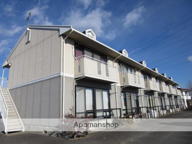 群馬県高崎市、北藤岡駅徒歩24分の築27年 2階建の賃貸アパート