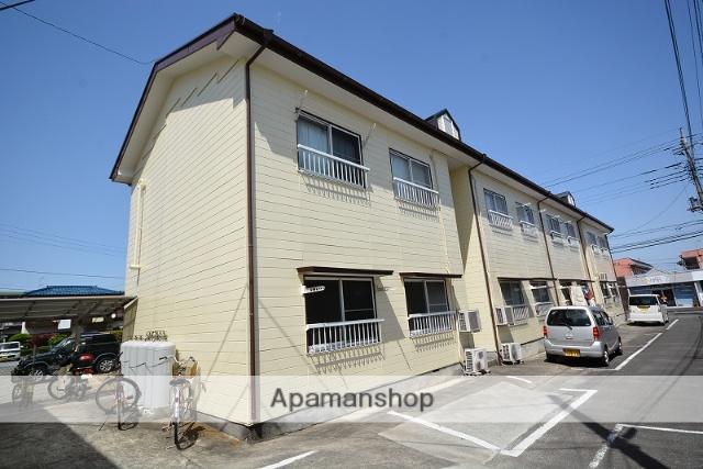 群馬県高崎市、高崎駅徒歩23分の築27年 2階建の賃貸アパート