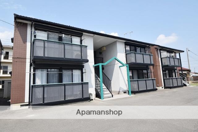 群馬県高崎市、高崎駅徒歩24分の築20年 2階建の賃貸アパート