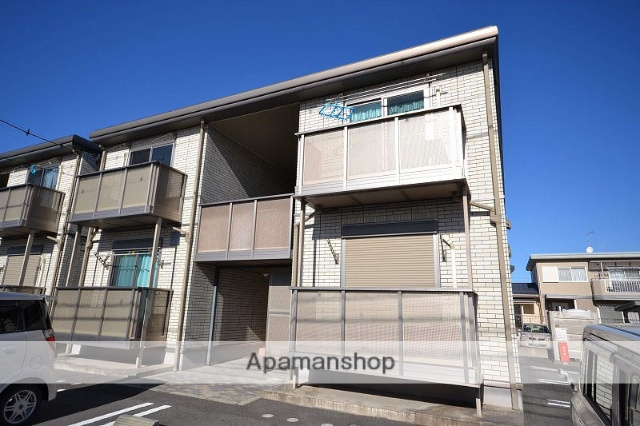 群馬県高崎市の築8年 2階建の賃貸アパート